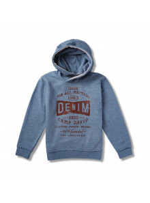 Camp David Kapuzensweater Denim