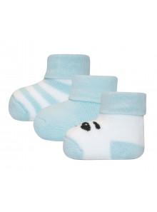 Ewers Newbornsocken Panda