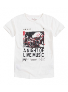 Pepe Jeans T-Shirt a night of live music