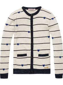 Scotch R'Belle Strickjacke Herzchen