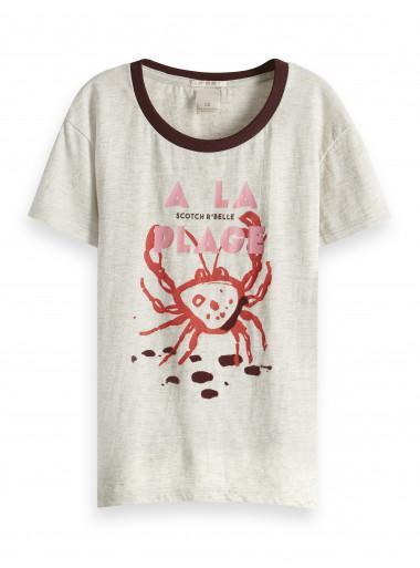 Scotch R'Belle T-Shirt Plage