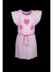 Happy Girls Kleid Streifen mit Wendepailletten