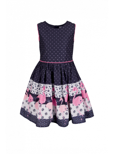 Happy Girls Kleid Flamingo