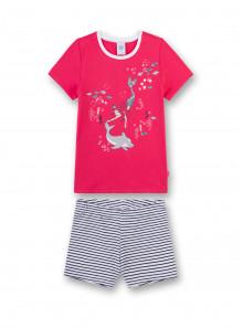 140 152 164 UVP 25,95 € Sanetta Girl Nachthemd lachs Gr