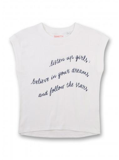 Sanetta T-Shirt Schrift