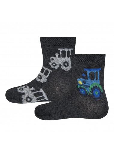 Ewers Socken 2er Pack Traktor