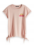Scotch & Soda T-Shirt Knoten