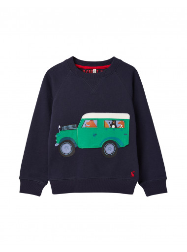 Tom Joule Sweater Jeep mit Tieren