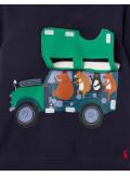 Tom Joule Sweater Jeep mit Tieren