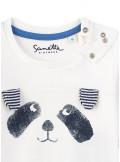 Sanetta Kidswear Langarmshirt Hund mit Ohren