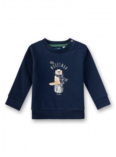 Sanetta Kidswear Sweater Woodsman