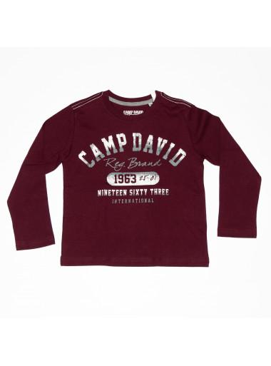 Camp David Langarmshirt Reg. Brand