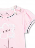 Sanetta Kidswear T-Shirt Blume Hello