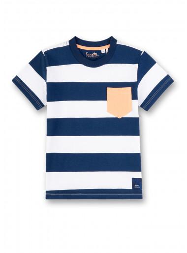 Sanetta Kidswear T-Shirt Streifen mit Brusttasche