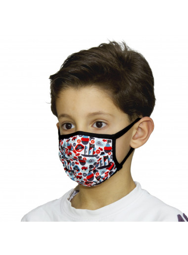 ITATI Kindermaske Piraten
