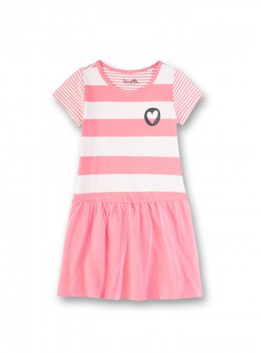 Sanetta Kidswear Kleid gestreift
