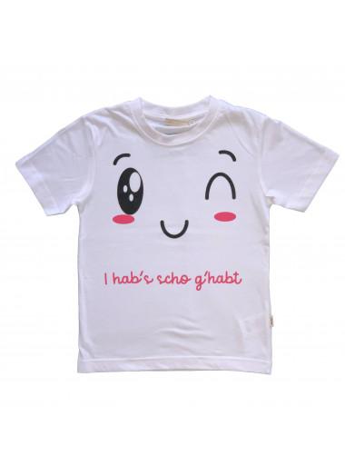 T-Shirt I hob's scho g'habt