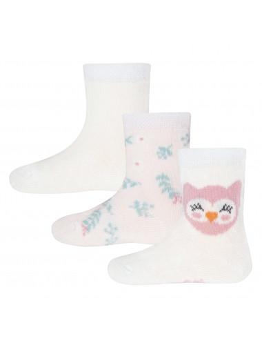 Ewers Socken 3er Pack Eule