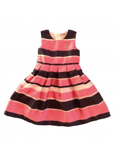 Topo Kleid mit Streifen