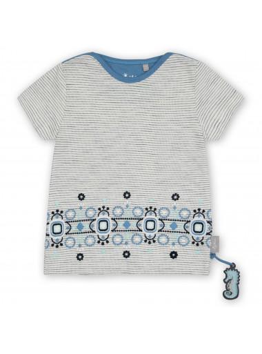 Sigikid T-Shirt Streifen-Look mit Stickerei