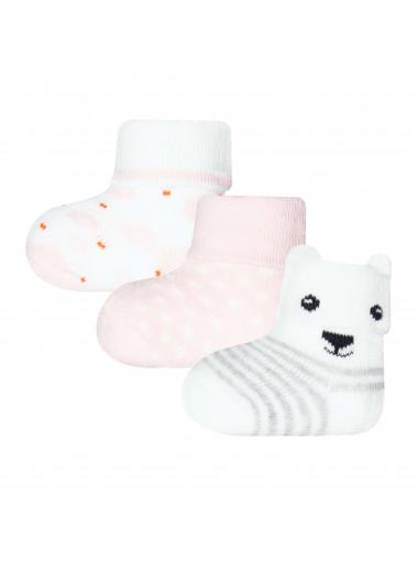 Ewers Newbornsocken Bär/Blümchen