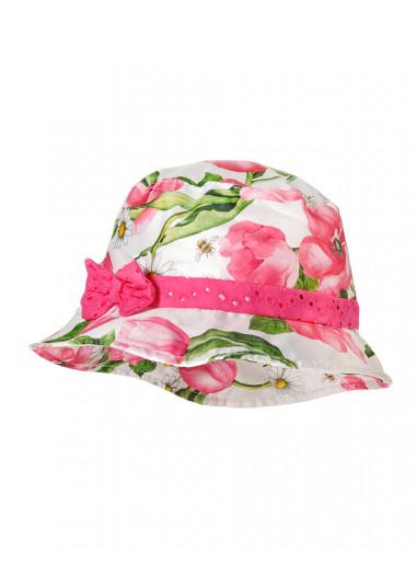 Maximo Hut mit Blumen