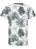 Blue Effect T-Shirt Blätter