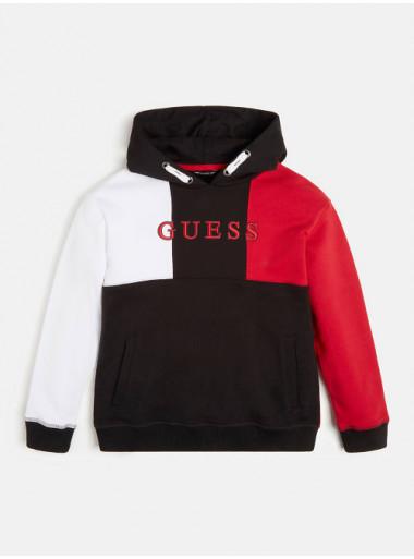 Guess Kapuzensweater Colorblock